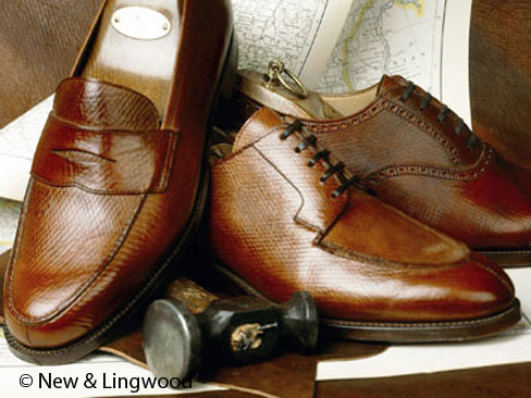 New & Lingwood´s Russian Calf Schuhe