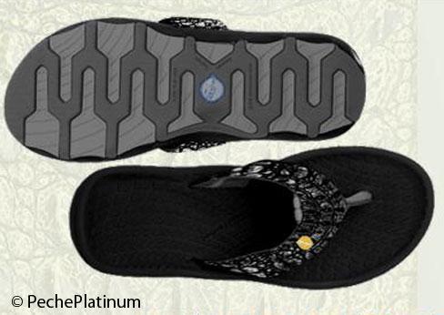 Flip Flops Peche Platinum