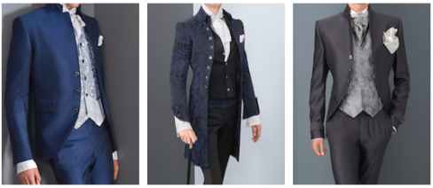 some more suits for the bridegroom