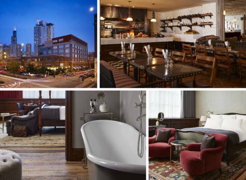 Impressionen vom Soho House in Chicago
