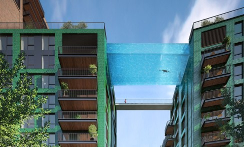 Sky Pool in London