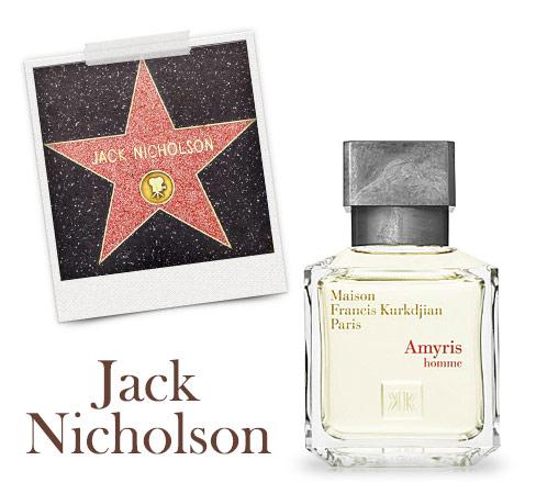 Ein Mann, ein Duft: Jack Nicholson & Amyris homme